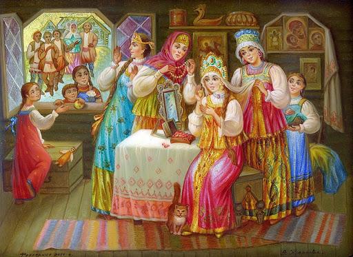 Свадебные традиции: как это было на Руси